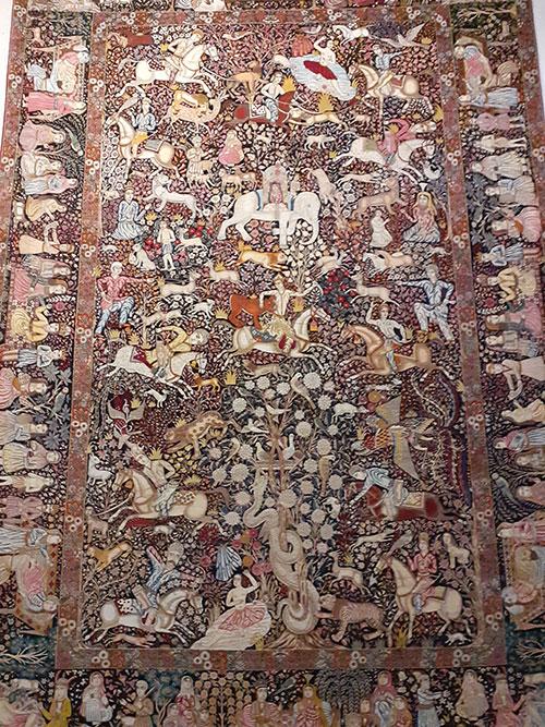 انواع قالی از نظر بافت