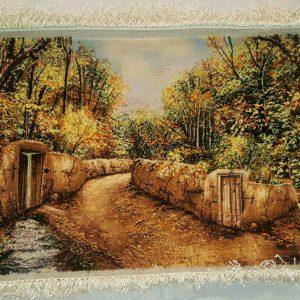 تابلو فرش کوچه باغ