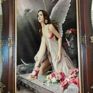تابلو فرش فرشته