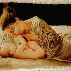 تابلو فرش مادر