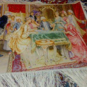 تابلو فرش مهمانی