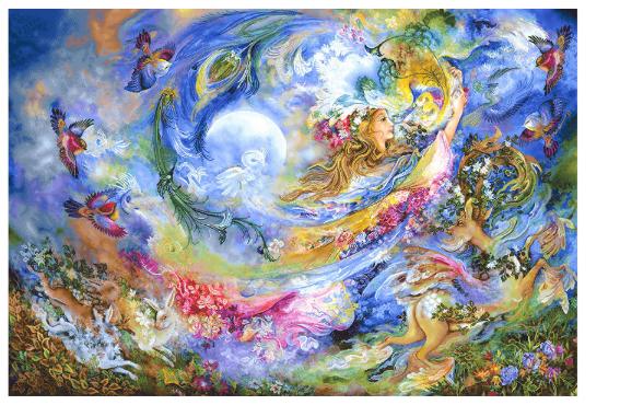 نخ و نقشه تابلو فرش مینیاتوری