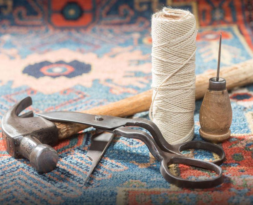 مرمت و تعمیرتابلو فرش های دستباف