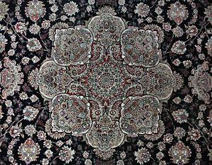 تابلو فرش دستباف مشهد